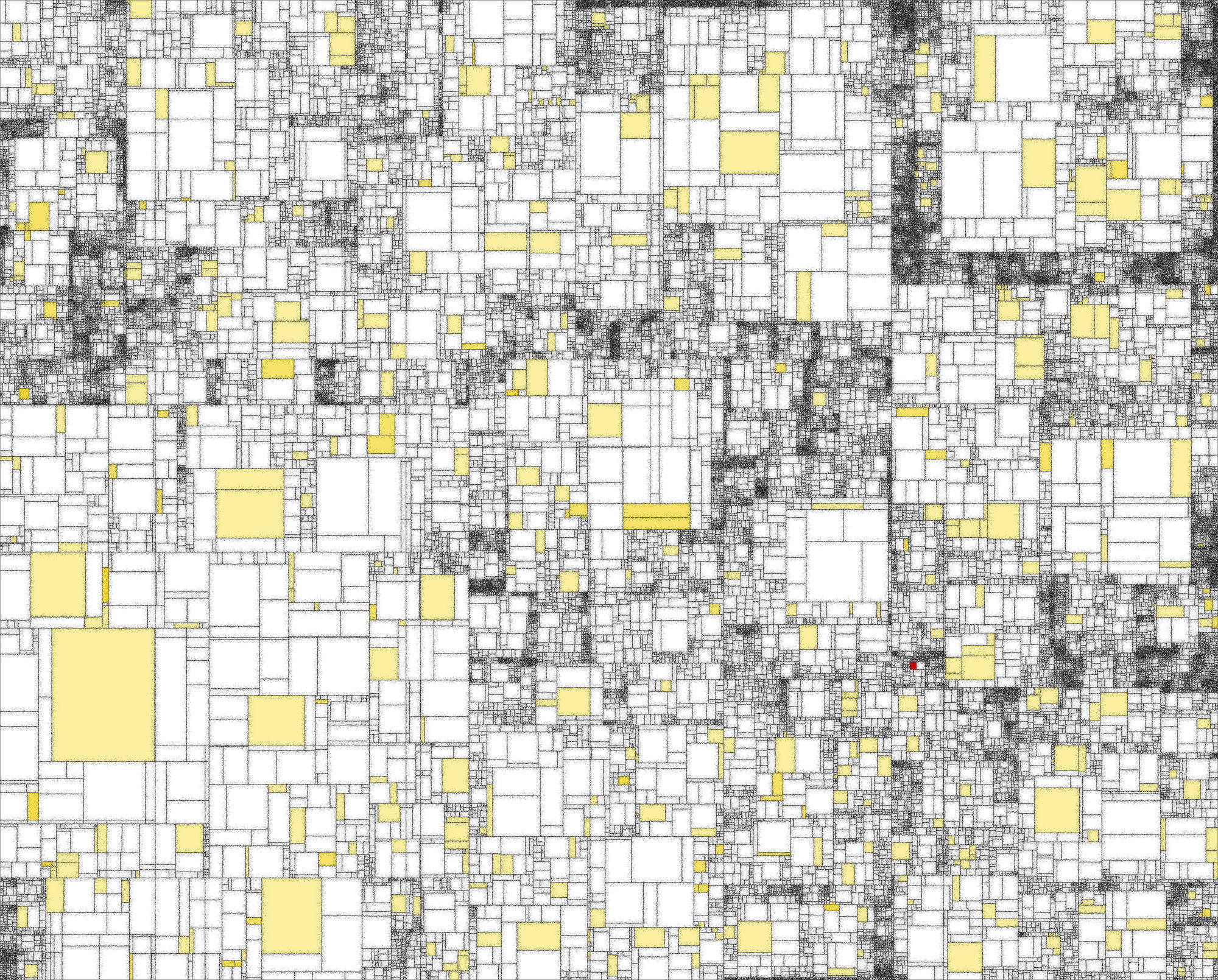 Mondrian reversed at Art Amersfoort 2015