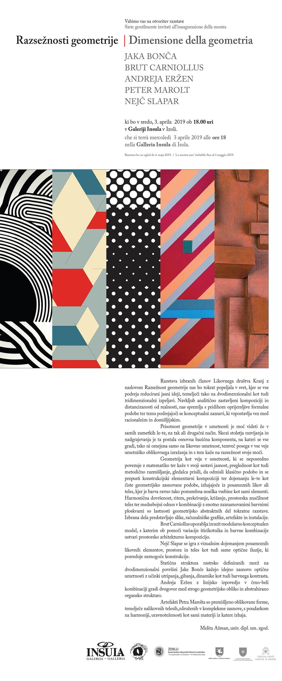Razsežnosti geometrije | Dimensione della geometria
