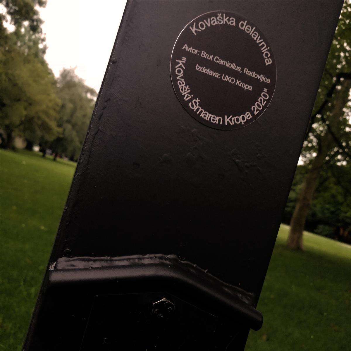 Möbius Lamp, Radovljica 2020