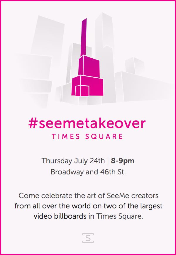 #seemetakeover