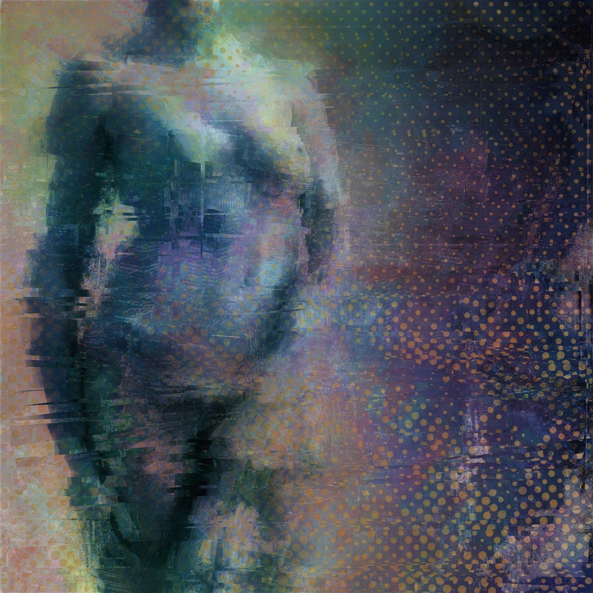 torso R, digital collage, original digital UV print up to 148x148cm, 2018