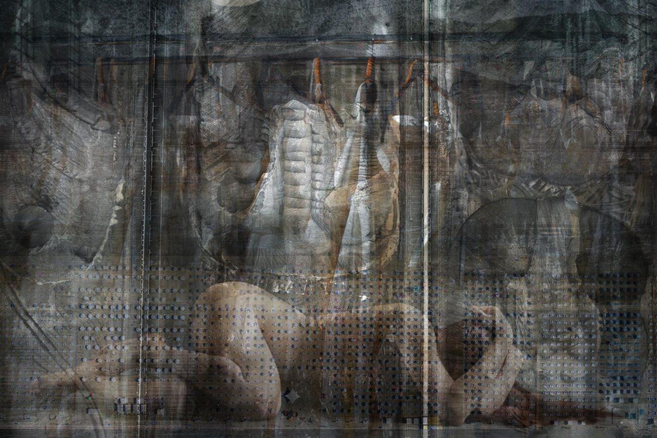 turn your back on the city, digital collage, original digital UV print up to 104x155cm, 2017